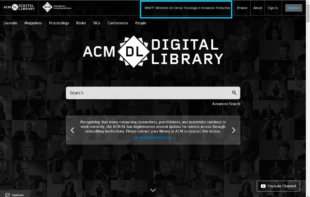 captura ACM